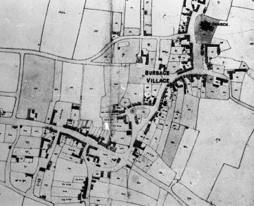 Burbage Tithe Map c1835